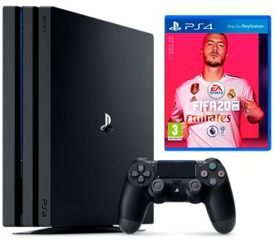 PlayStation 4 Pro 1TB Black + FIFA 20